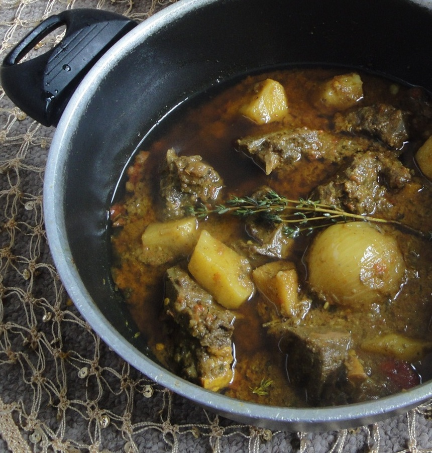 how to cook jamaican mutton